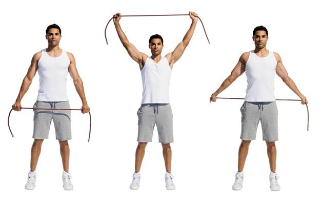 shoulder test flexibility