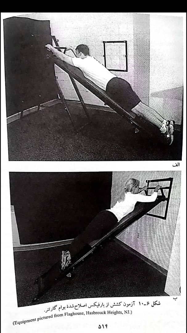 آزمونهای استقامت عضلانی